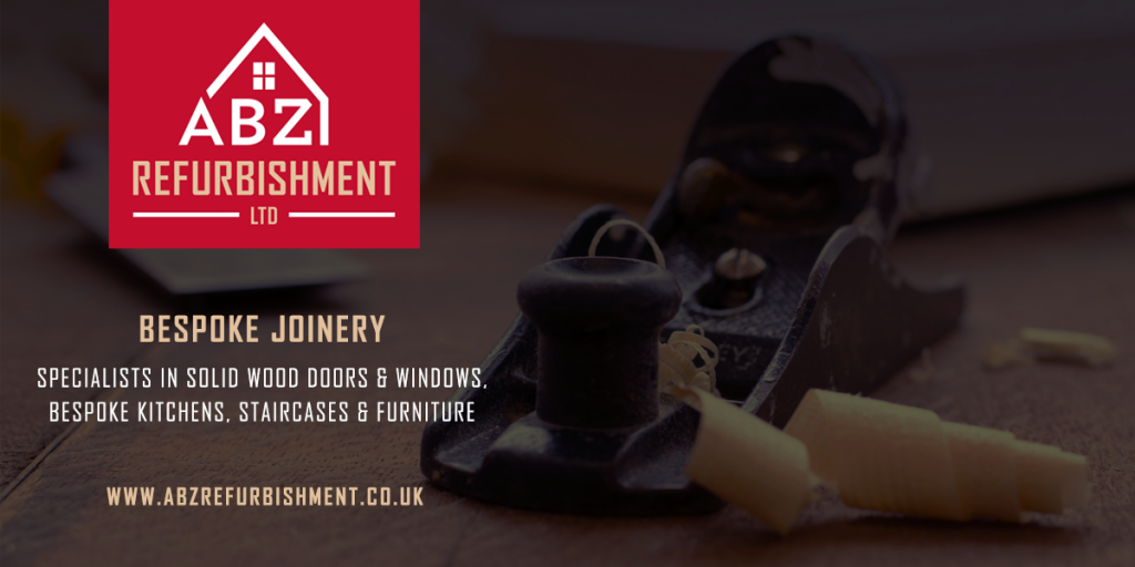 ABZ Refurbishment - Bespoke joinery - Specialists in solid wood doors & windows, bespoke kitchens, staircases & furniture
